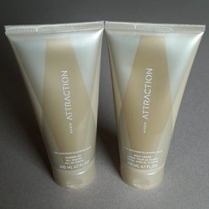 Avon Attraction Body Lotion and Shower Gel
